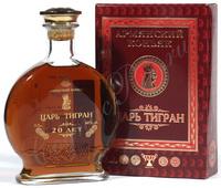 Армянский коньяк Царь Тигран 20 лет