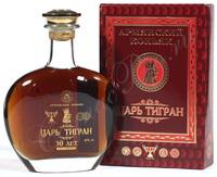 Армянский коньяк Царь Тигран 30 лет